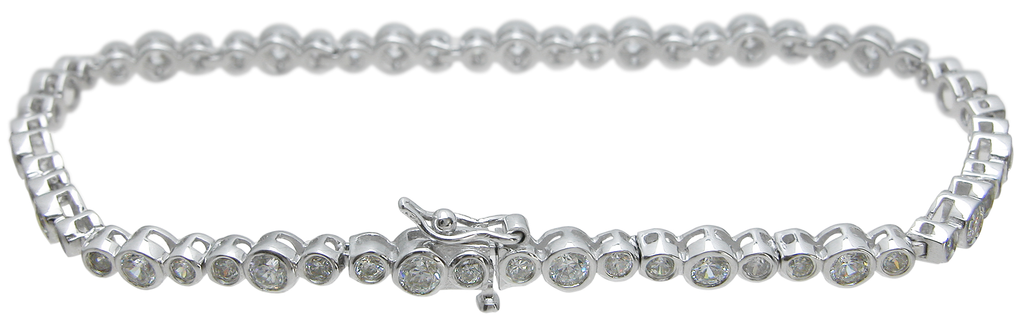 Wholesale 925 Sterling Silver Tiffany Style Bracelet