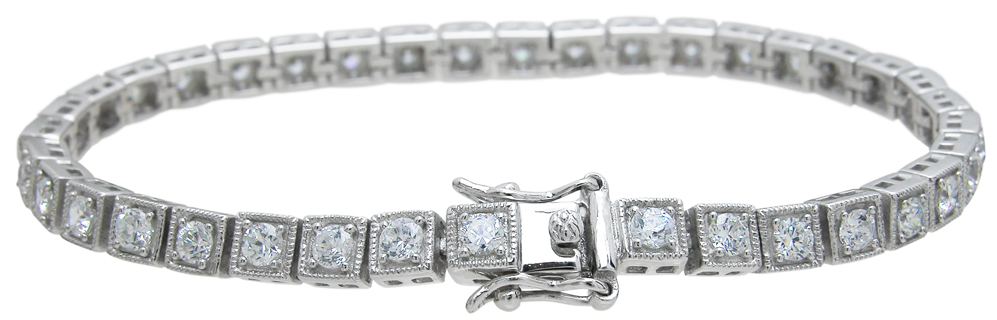Wholesale 925 Sterling Silver Snitque Style Bracelet
