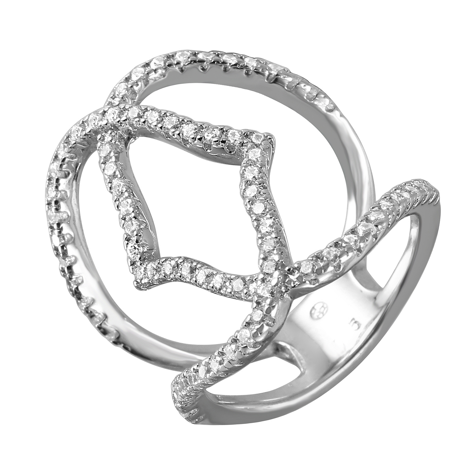 boomer style magazineboomer ring rhodium sterling elegance magazine rings silver plated