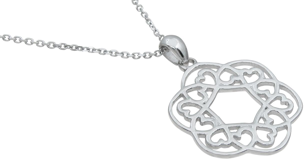 wholesale sterling silver heart pendant
