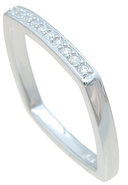 wholesale 925 sterling silver cz wedding band