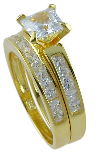 14k Gold Plated 925 Sterling Silver Ring