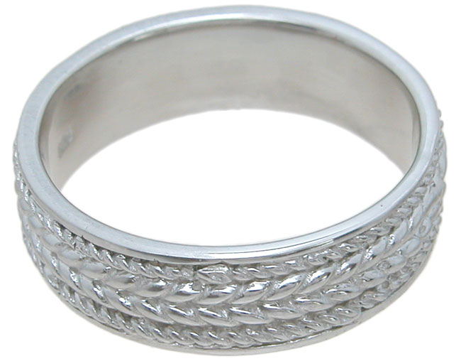 wholesale 925 sterling silver mens wedding band