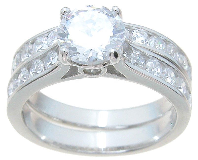 wholesale 925 sterling silver brilliant engagement ring