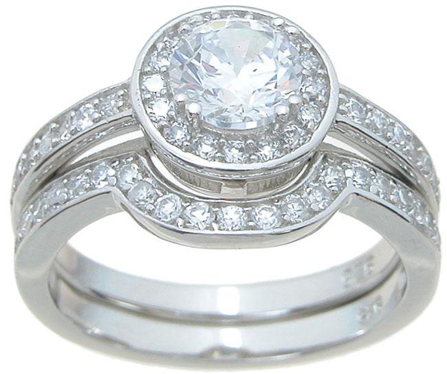 wedding sets wholesale sterling silver cz wedding sets